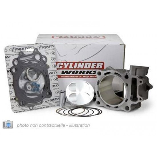 KIT CYLINDRE-PISTON CYLINDER WORKS POUR YAMAHA YZ450F '03-05, WR450F '03-06, 468CC  Ø97MM