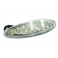 FEU ARRIERE SPACE 15 LEDS TRANSPARENT