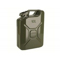 JERRYCAN CARBURANT METALLIQUE 10L