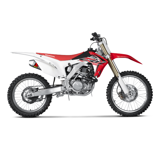 ligne d 39 chappement compl te evolution akrapovic honda crf 450 r 2015 2016 akrapovic. Black Bedroom Furniture Sets. Home Design Ideas