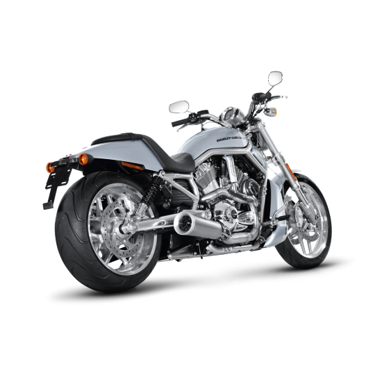 ligne d 39 chappement compl te open pour customs akrapovic harley davidson v rod vrscdx night rod. Black Bedroom Furniture Sets. Home Design Ideas
