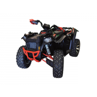 Kit D'extension D'ailes Direction 2 Noir Polaris Scrambler 850/Xp1000 Eps