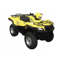 Kit D'extension D'ailes Direction 2 Noir Suzuki King Quad