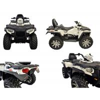 Kit D'extension D'ailes Direction 2 Polyéthylène Noir Polaris Sportsman Touring 570