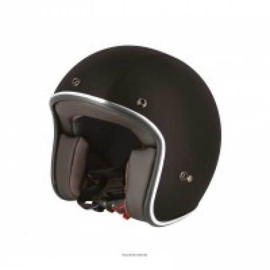 casque jet caferacer s210 cuir taille et couleur au choix s line. Black Bedroom Furniture Sets. Home Design Ideas