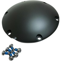 COVER DERBY transmission Satin Black - 301500