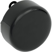 COVER HORN ROUND BLACK - 76705B4