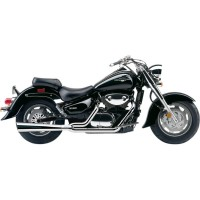 EXHAUST SYSTEM 2 INTO 1 POWER PRO CHROME - 3420