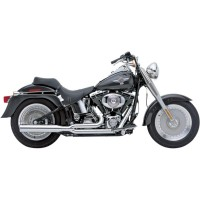 POWER PRO HP 2 INTO 1 EXHAUST SYSTEM CHROME - 6420