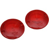 REPLACEMENT RED TURN SIGNAL LENSES - 12-0203-RL2D