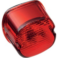 TAILLIGHT LAYDOWN LED RED LENS W/O TAGLIGHT - Top/Bottom