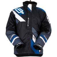 COMP S7 INSULATED JACKET BLACK/BLUE LARGE - 3120-1583