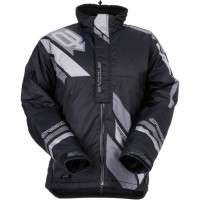 COMP S7 INSULATED JACKET BLACK/GRAY SMALL - 3120-1573
