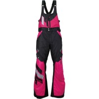 ECLIPSE S7 WOMEN INSULATED BIBS BLACK/PINK LARGE - 3131-0457
