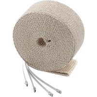 EXHAUST WRAP KIT TAN 1x50' - 2001TA