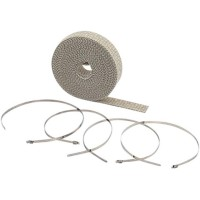 EXHAUST WRAP KIT TAN 2x25' - 2002TA