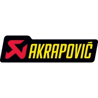 Sticker logo AKRAPOVIC - Dimensions au choix