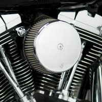 AIR FILTER KIT SYNTHETIC BIG SUCKER STAGE 1 - Noir ou Chrome