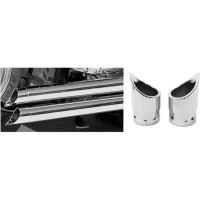 BARON EXHAUST TIP FAMILY JEWELS MINI SCALLOPED - BA-1100-02