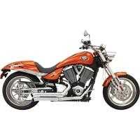 BASSANI EXHAUST PRO STREET CHROME - 6H13D