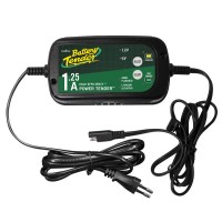 BATTERY CHARGER POWER TENDER™ SELECTABLE 6V / 12V 0.8A 17,2 CM X 9,3 CM X 4,9 CM BLACK - 022-0200-DL-UK