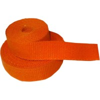 CYCLE PERFORMANCE WRAP KIT EXHAUST 2 X 25' WITH TIE ORANGE/BLACK - CPP/9062B