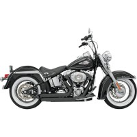 EXHAUST FIRESWEEP TURNOUT BLACK - 12123D