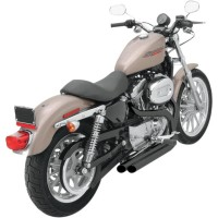 EXHAUST PRO STREET BLACK - XL4-325FCLB
