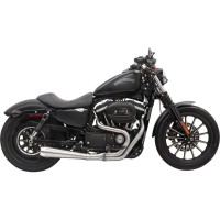 EXHAUST ROAD RAGE 3 STAINLESS SPORTSTER SYSTEM 2 INTO 1 MUFFLER - 1X42SS