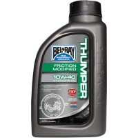 FRICTION MODIFIED THUMPER RACING 4-STROKE ENGINE OIL 10W-40 1 LITER - 99220-B1LW