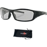 HOOLIGAN STREET SUNGLASSES BLACK PHOTOCHROMIC LENSES CLEAR - BHOO101