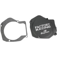 IGNITION COVER FACTORY RACING ALUMINUM REPLACEMENT BLACK - SC01AB