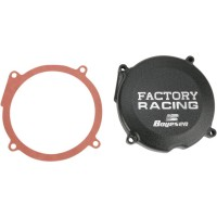 IGNITION COVER FACTORY RACING ALUMINUM REPLACEMENT BLACK - SC02B