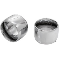 MUFFLER TIP JET CHROME - 31300