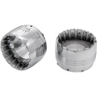 MUFFLER TIP JET WITH ACCENTS CHROME - 31320