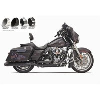 MUFFLERS SLIP-ON 4 BLACK QUICK-CHANGE SERIES - 1F742B