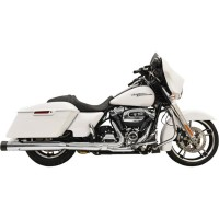 MUFFLERS STRAIGHT CAN DNT® CHROME W/BLACK END CAPS - 1F72DNT5
