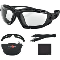 RENEGADE CONVERTIBLE SUNGLASSES BLACK PHOTOCHROMIC LENSES CLEAR - BREN101