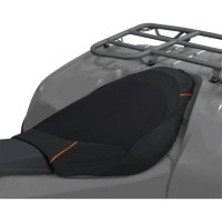 SEAT COVER ATV DLX BK/GRY - 15-098-013801-0