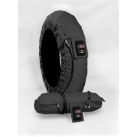 TIRE WARMER SET SUPREMA VISION MEDIUM/X-LARGE 17 BLACK - S2V020401001F