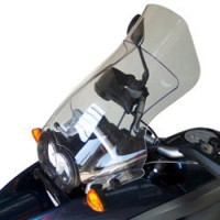 WINDSHIELD HIGH PROTECTION 49 CM 0.5 CM PMMA CUSTOM REPLACEMENT CLEAR - BB047HP