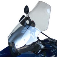 WINDSHIELD HIGH PROTECTION 58 CM 0.4 CM PMMA CUSTOM REPLACEMENT CLEAR - BB045HP