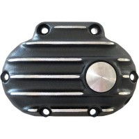 COVER CLUTCH CABLE RIBBED 'SNATCH' 6 SPD BLACK-CUT - GB6TC/R/BC