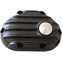 COVER CLUTCH CABLE RIBBED 'SNATCH' 6 SPD BLACK - GB6TC/R/B