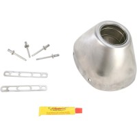 FACTORY 4.1 RCT STAINLESS STEEL END CAP KIT - 040641