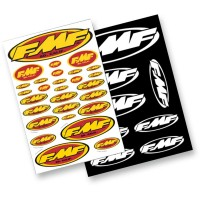 FMF ASSORTED STICKER SHEET - 014800