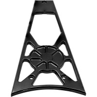 FRAME GRILL DECADENT BLACK POWDERCOAT - LA-F360-01B