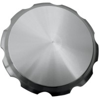 GAS CAP SERRATED SMOOTH CLEAR - 10-442S