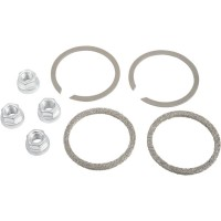 GASKET KIT EXHAUST MOUNTING WITH KNITTED WIRE GASKETS & FLANGE NUTS - 65324-83-KW2