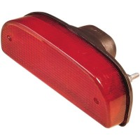 REPLACEMENT FOR CUSTOM TAILLIGHT FOR 7 FATBOB FENDER - 12-0050L-BC325